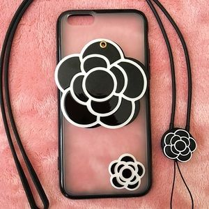 Luxury iPhone 6/6s case with strap